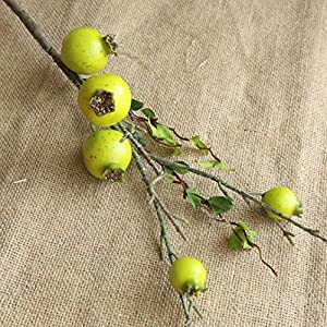 TiTCool Artificial Fake Flowers Pomegranate Dried Bunch New Wedding Bouquet Outdoor Party Home Decor 58