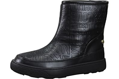 detailed look big collection vast selection Love Moschino Women's Embossed Logo Winter Boot