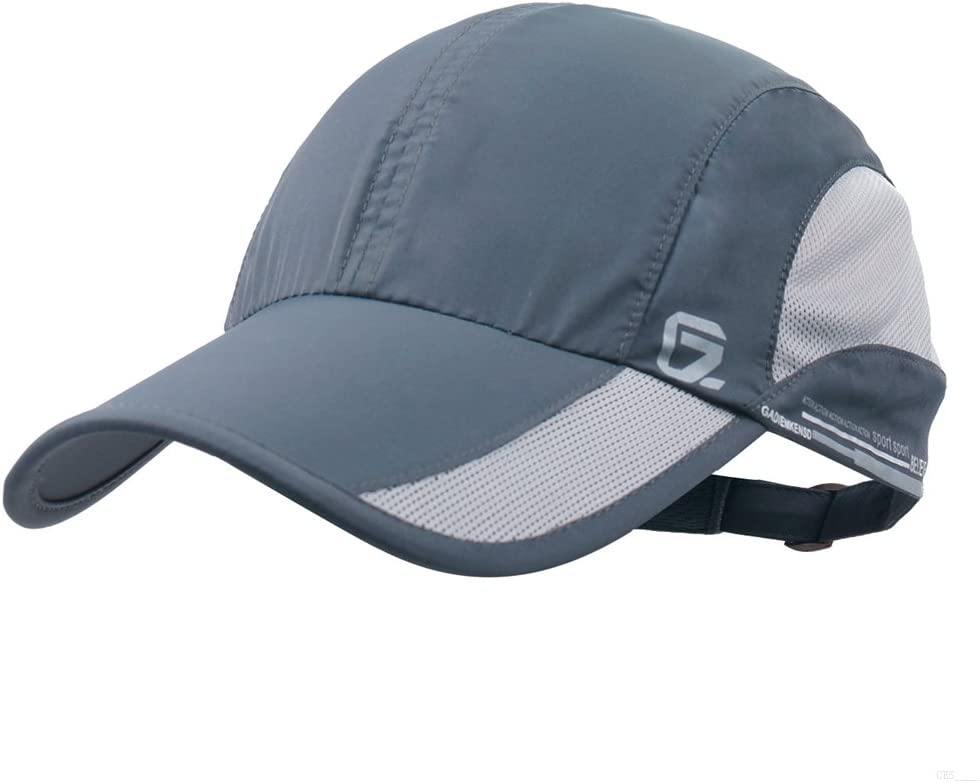 GADIEMKENSD Quick Dry Sports Hat Lightweight Breathable Soft Outdoor Run Cap