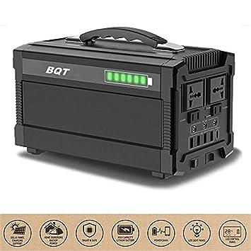 Inversor Solar Portátil Del Generador 288Wh, Inversor Solar De La Batería 500W, Estación De