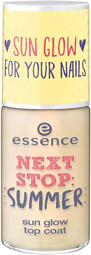Essence Next Stop Summer Sun Glow Top Coat - 01 Be Someone's Sunshine Today