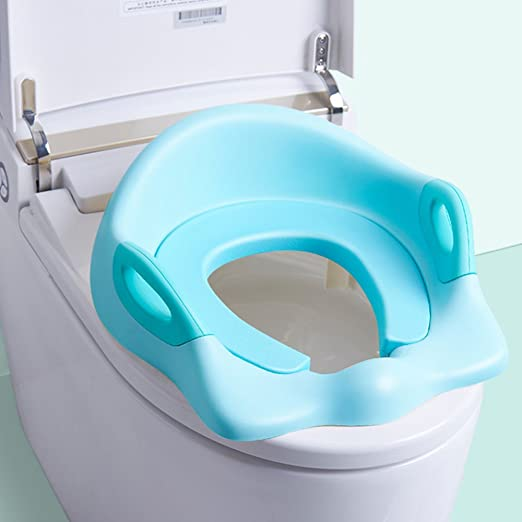 WC Escalera para Baby Toddler Potty Training Escalera de inodoro Asientos de asiento Asistente de baño