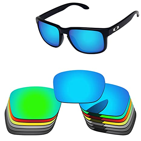 ff56f2a648 Oak ban Polarized Replacement Lenses for Oakley Holbrook Sunglass-Multi  Options Black