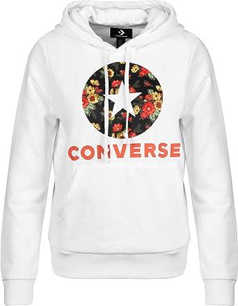 Converse In Bloom Print W Sudadera con Capucha: Amazon.es: Ropa y accesorios
