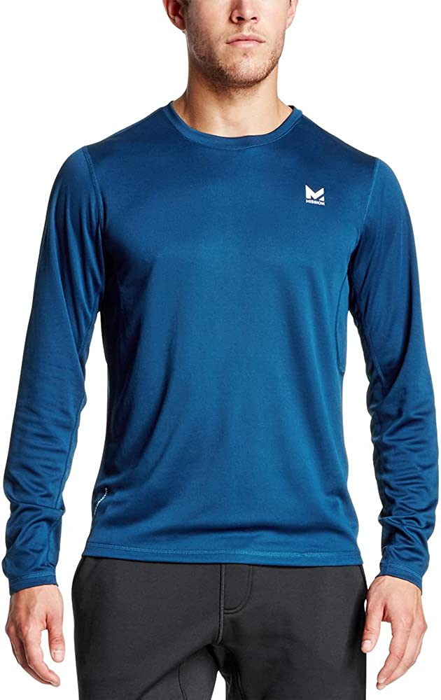 Mission Men's VaporActive Alpha Long Sleeve Athletic Shirt