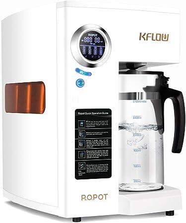 KFLOW Filtro de agua potable, purificador de agua de 4 etapas RO ...