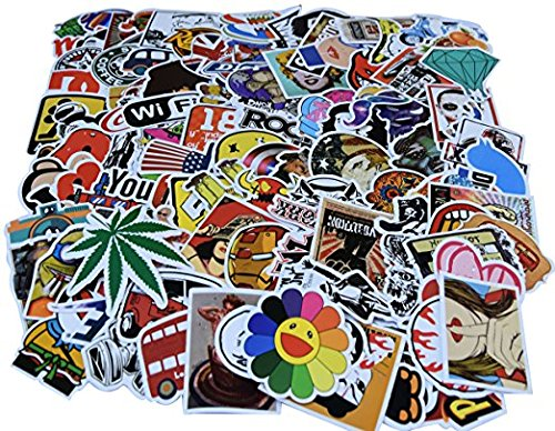 Diageng Laptop Stickers Pack Random Styles 100 Pcs