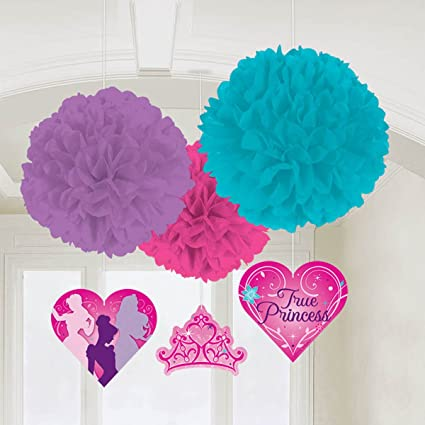 Image Unavailable Not Available For Color Disney Princess Birthday Party Fluffy Decorations