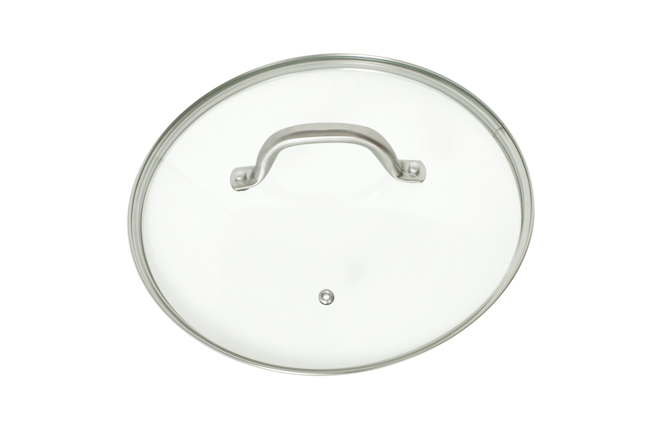 Glass Frying Pan Lid, 10 Inch Tempered Glass Cookware Lid With Vent | Stainless Steel Handle and Rim | Oven Safe and Dishwasher Safe | Perfect for Warming, Steaming, Simmering, and Braising.