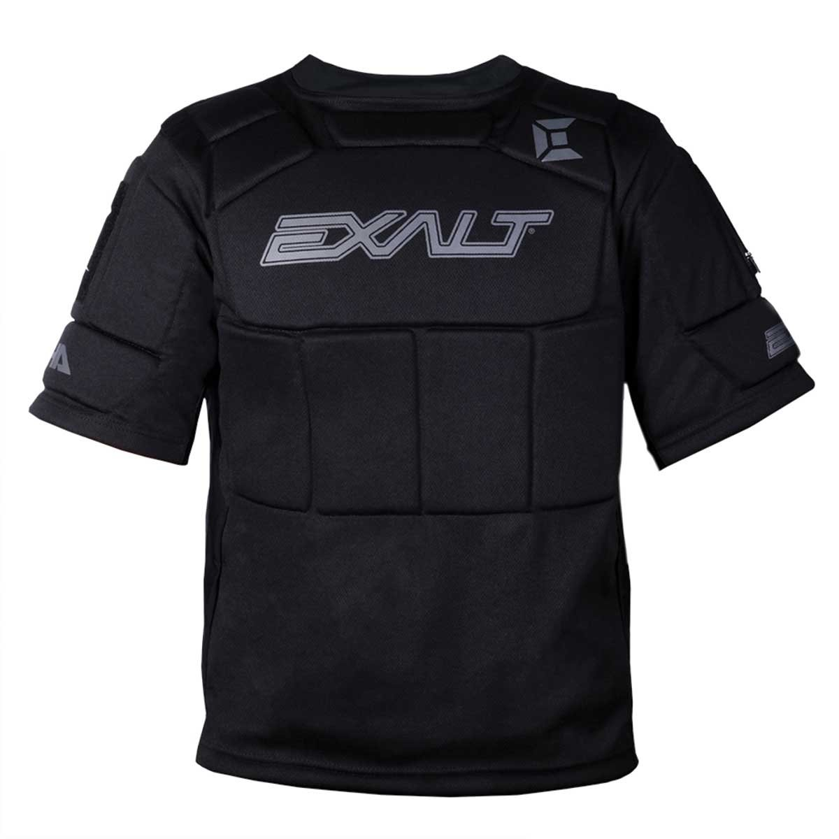 Exalt Paintball Alpha Chest Protector - Black - Youth by Exalt