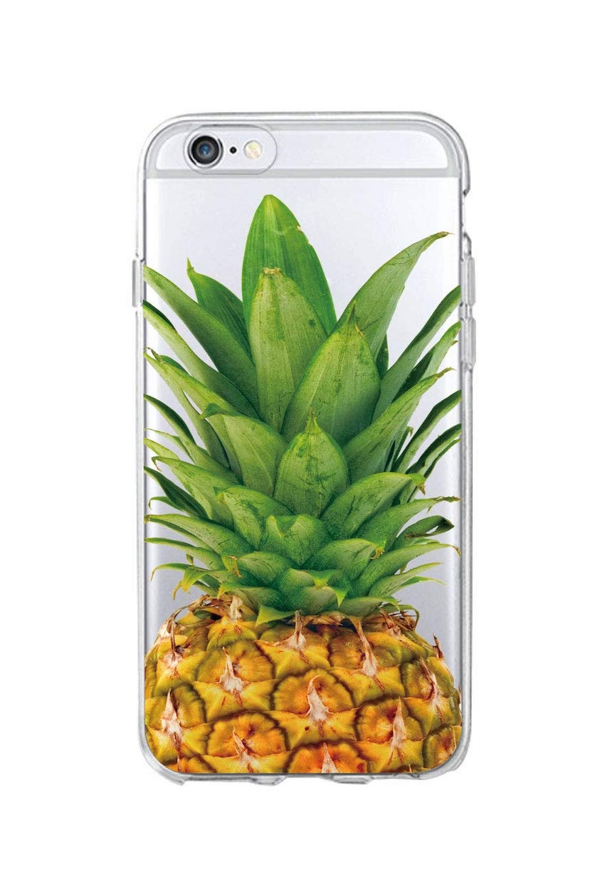 Amazon.com: Cute Fashion Summer Pineapple Floral Soft Phone ...