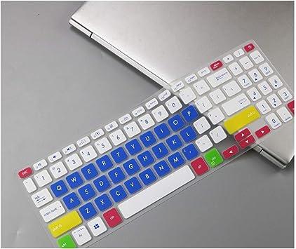 for Asus Vivobook S15 S530UN S530F S530FN S530UA S530UF S530FA S530U S530 UN UA 15.6 inch Keyboard Protector Skin Cover,Candyblue