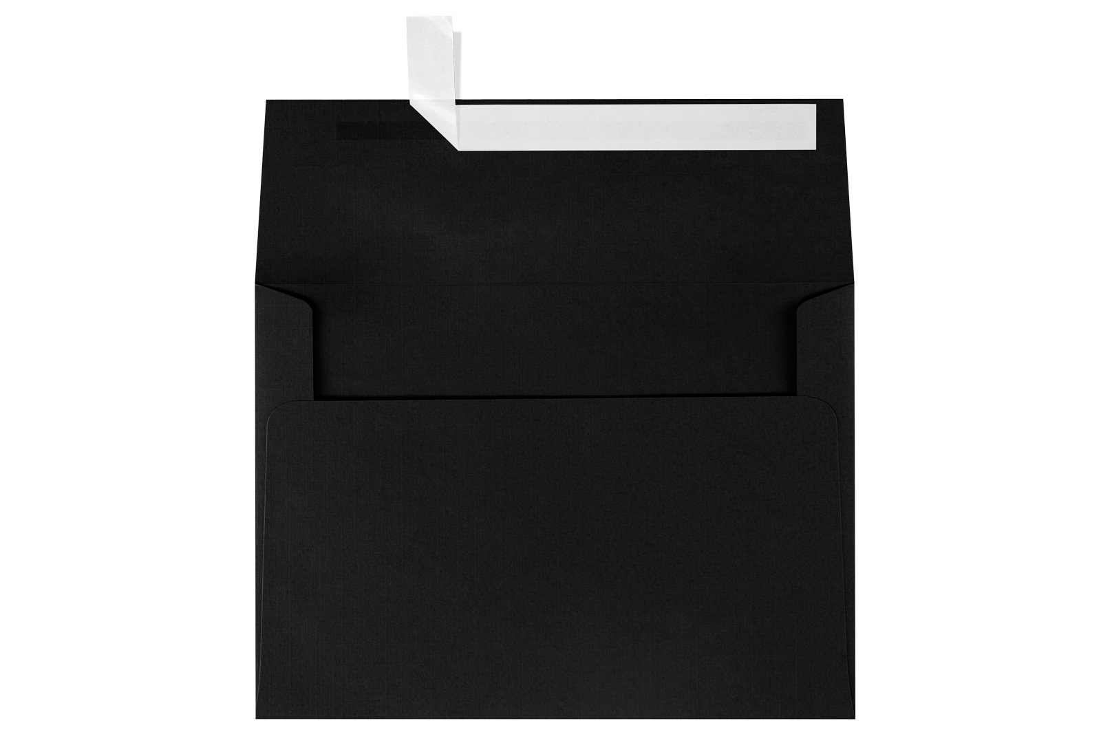 A7 Invitation Envelopes w/Peel & Press (5 1/4 x 7 1/4) - Black Linen (1000 Qty.) | Perfect for Special Occasions and Invitations | 4880-BLI-1M