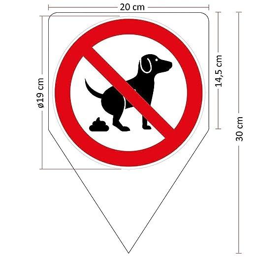 Panneau chien koten interdite