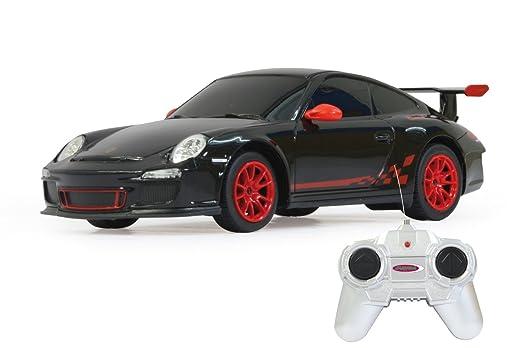 Jamara 404095 Porsche GT3 RS - Coche radio control (escala 1:24, 40 MHz), color negro [importado de Alemania]: Amazon.es: Juguetes y juegos
