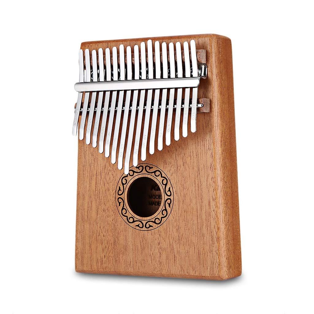 Zyj 17-Key Thumb Piano Mahogany Musical Instrument Portable Beginner Piano Entry Finger Piano
