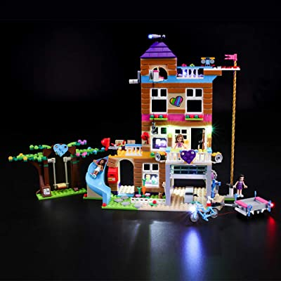 BRIKSMAX Kit de Iluminación Led para Lego Friends Casa de la Amistad, Compatible con Ladrillos de Construcción Lego Modelo 41340, Juego de Legos no Incluido: Juguetes y juegos