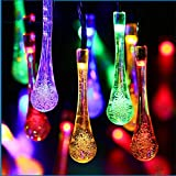 Gobuy Solar Powered Waterfroof Eco-Friendly String Fairy Lights 20 Christmas Decoration For Outdoors, Garden, Yard