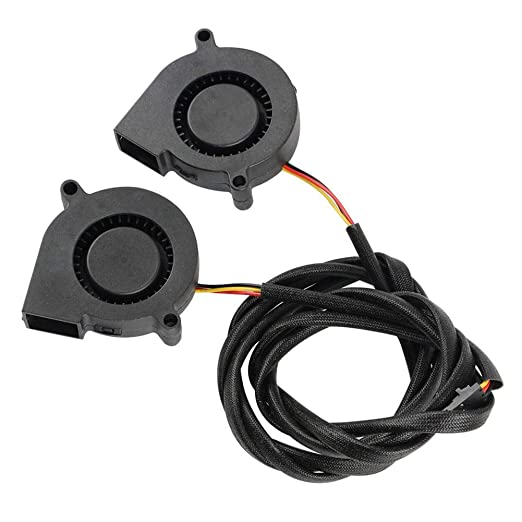 Aerries 2PCs Impresora 3D Silent Cooling Fan Blower ...