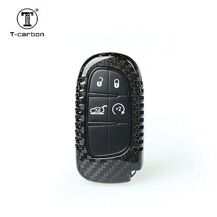 Amazon com: Carbon Fiber Key Fob Cover for Dodge RAM Key Fob