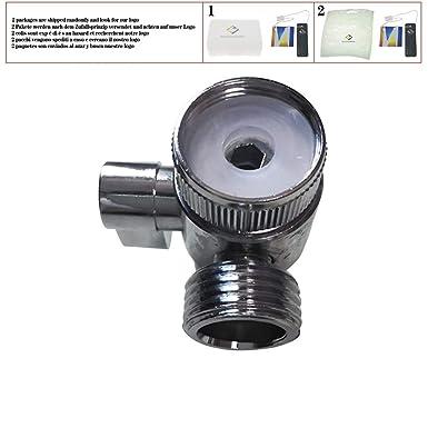valvola di controllo unidirezionale per cucina//bagno deviatore per rubinetto Valvola deviatore per acqua in lega di zinco 1,27 cm IPS