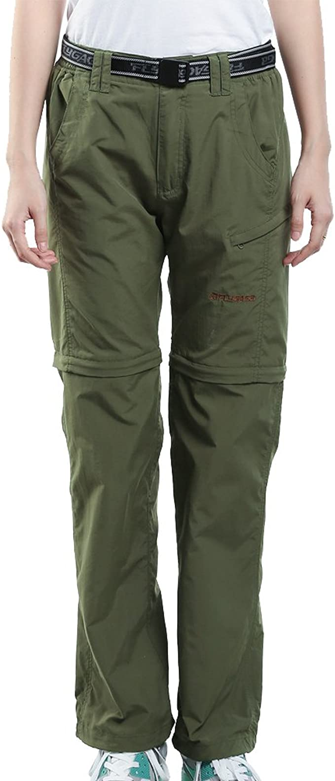 Nonwe Womens Outdoor Water-Resistant Quick Dry Convertible Cargo Pants