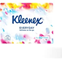 KLEENEX Everyday Facial Tissues, Soft Pack (Pack of 420)