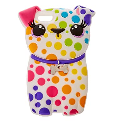 new styles 8fad4 a29a5 Claire's Girl's Rainbow Spotted Dog Case: Claire's: Amazon.co.uk ...