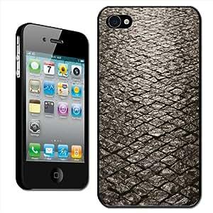 Fancy A Snuggle - Carcasa para iPhone 4 y 4S, diseño de pavimento de piedra