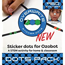 Sticker Codes (Dots Pack) for use with Ozobot