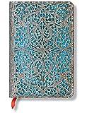 Carnet PAPERBLANKS Collection Filigrane Argenté Maya Bleu Classique format Mini - PB25665
