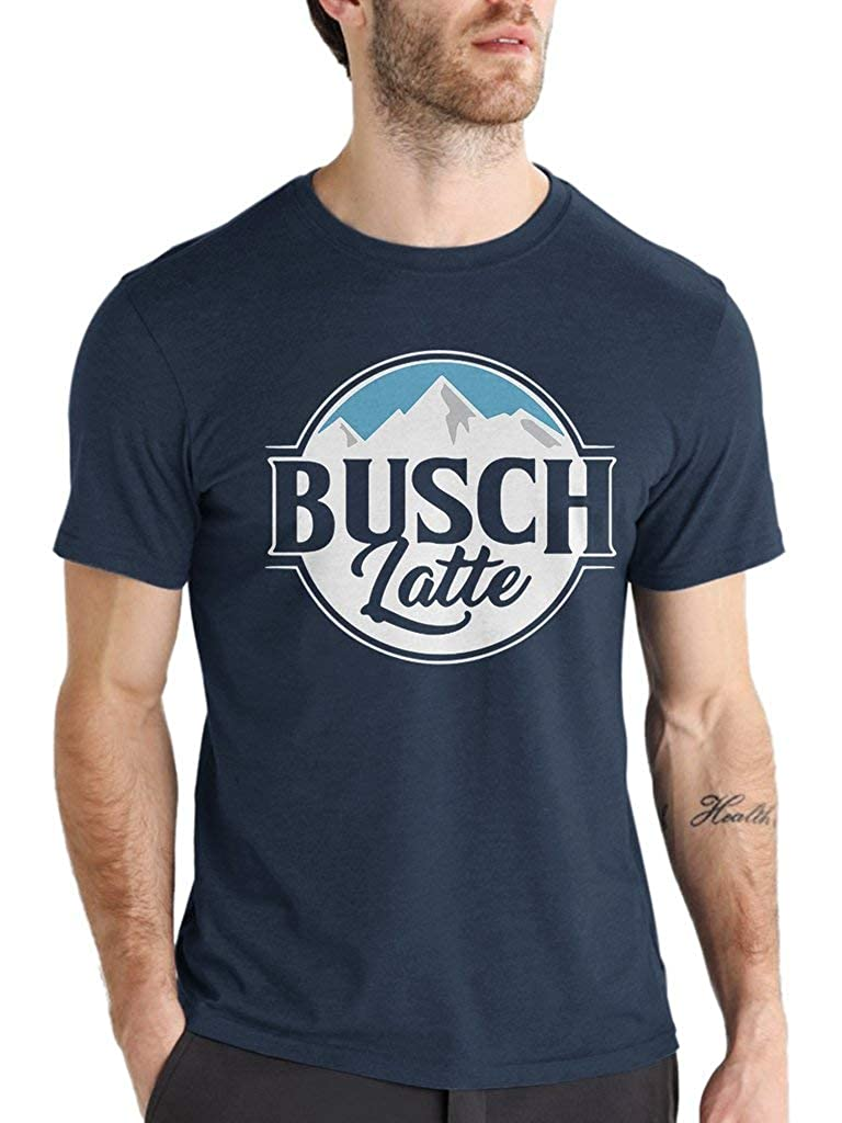 Funny Vintage Trending Awesome Gift Shirt for Beer Lovers Unisex Style by SMLBOO Shirt Busch Latte
