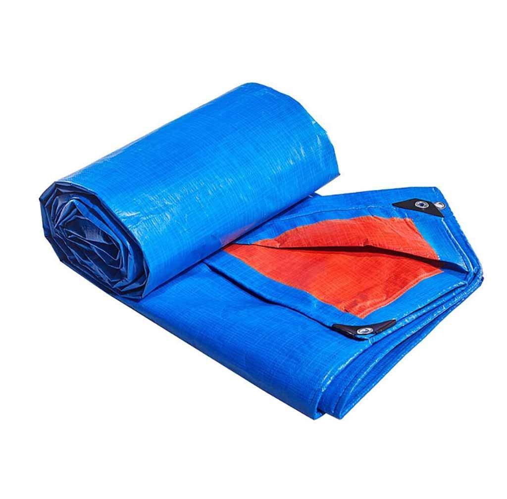 SZ JIAOJIAO Regen Dichte Tuch Verdickung Sonnencreme Sonnenschirm Zelt Anhänger Abdeckung Polyethylen PE Picknick Plane. 180G M2,5M×6M