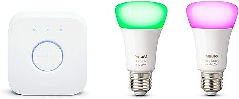 Philips Hue Starter Kit 3 Bulbs White & Color E27 +