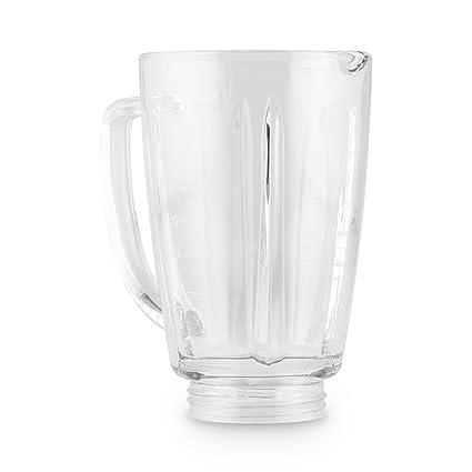 Klarstein Vaso de Recambio para batidora Herakles Steel 1,8 litros Cristal