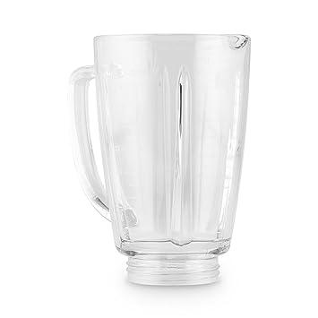 Klarstein Vaso de Recambio para batidora Herakles Steel 1, 8 litros Cristal: Amazon.es