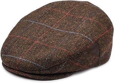 Newsboy Cap for Men, Flat Cap, Ivy Hat Wool Blend, Mens Caps, Gatsby Hat at  Amazon Men's Clothing store