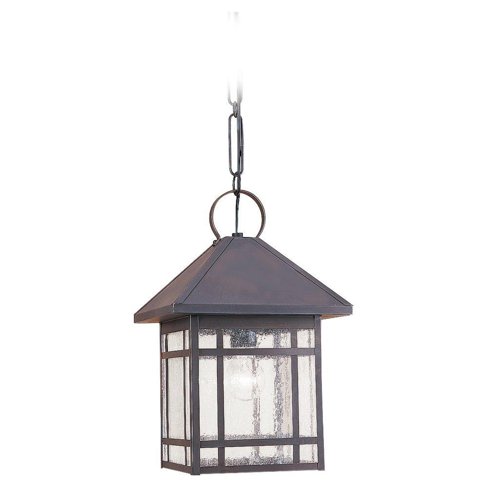 Sea Gull Lighting 60010-71 Largo Outdoor Hanging Light, Antique Bronze by Sea Gull Lighting B000UO04HK