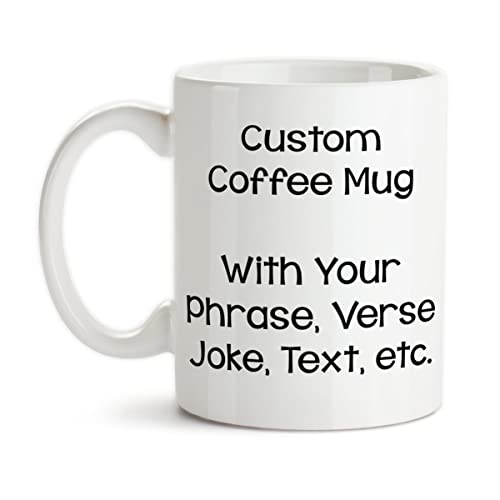 ceramic coffee mugs - print your own