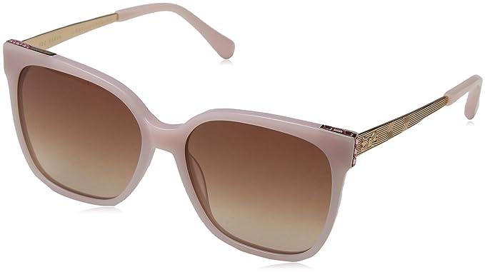 Ted Baker Skye Gafas de sol, Rosa (Minky Pink/Brown), 56.0 ...