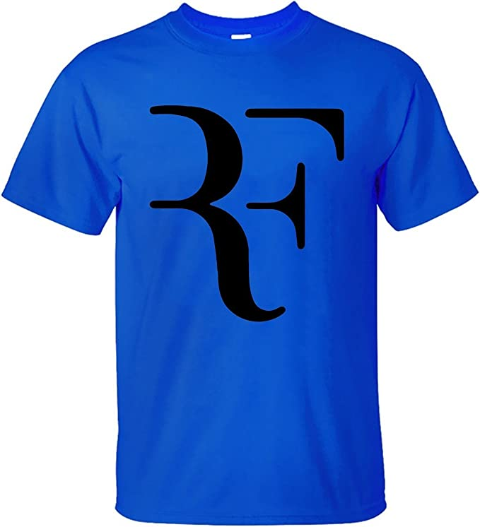 Treask Spreading Mens Roger Federer Blue T shirt: Amazon.es: Ropa ...