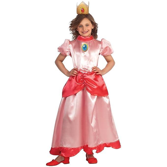 Rubie S Child Super Mario Princess Peach Costume