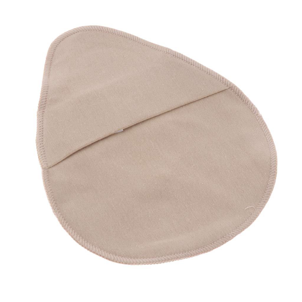 Baoblaze Coppia Di Tasca Proteggi Cotone Per Forme Seno Al Silicone Sacchetti Maniche Porta Supporto Per Tette In Silicone Per Mastectomia E Crossdressing