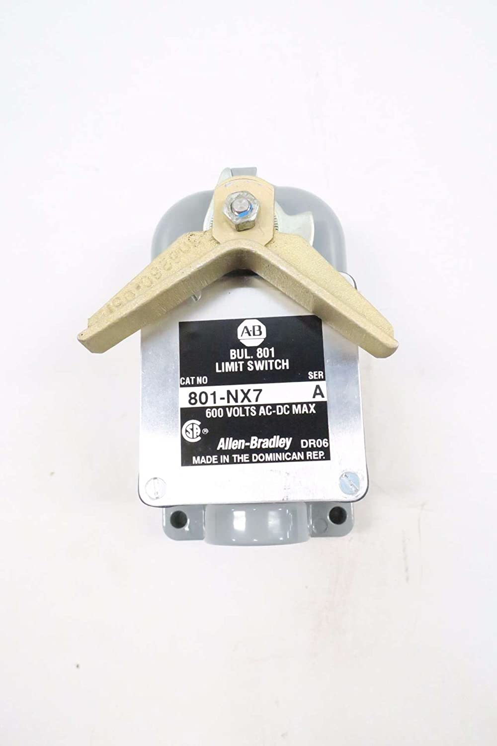 New Allen Bradley 801 Nx7 Limit Switch Ser A D542846 Home Page Gt Switches Sensors Spst Toggle Industrial Scientific