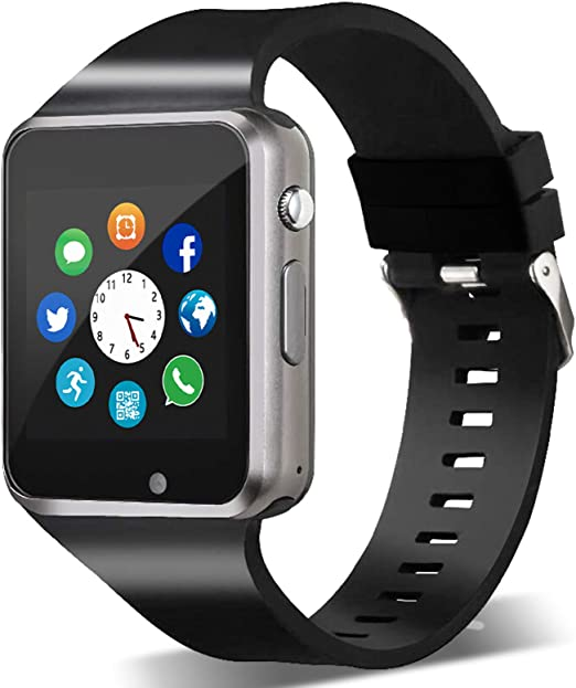 Amazon.com: Smart Watch,Unlocked Smartwatch Compatible with  Bluetooth/Android Phone Touchscreen Call Text Notification Sync Camera  Music Player Smart Watches for Women Men Kids