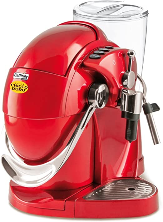 Caffè Chicco doro Nautilus de cápsulas de máquina S06 de colour rojo (con sistema de Caffitaly): Amazon.es: Hogar