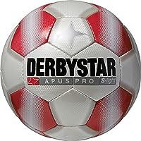 Derbystar Fußball Apus Pro S-Light, Weiß/Rot, 5, 1719500131