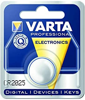 Varta CR2025 Pilas Litio Plateada Pack de 1
