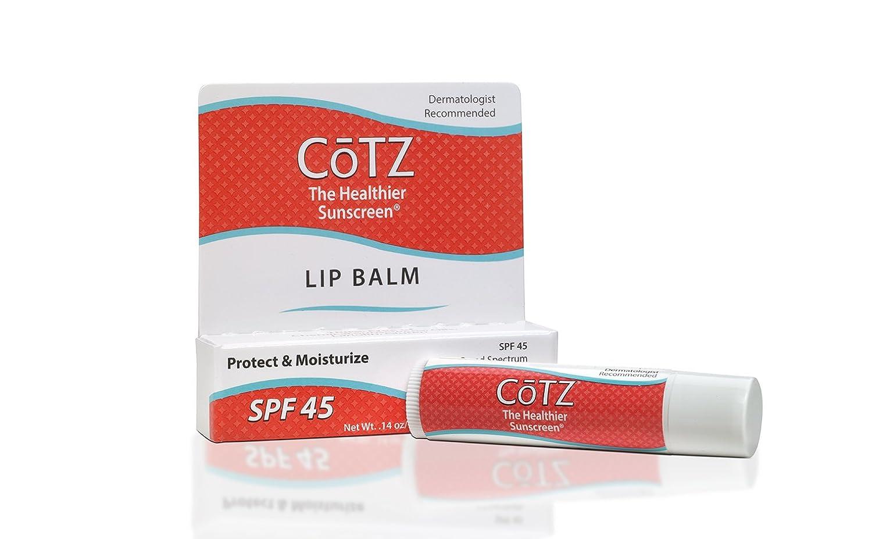 Cotz Lip Spf 45.14 Ounce Fallene Ltd. Lip Balm SPF 45