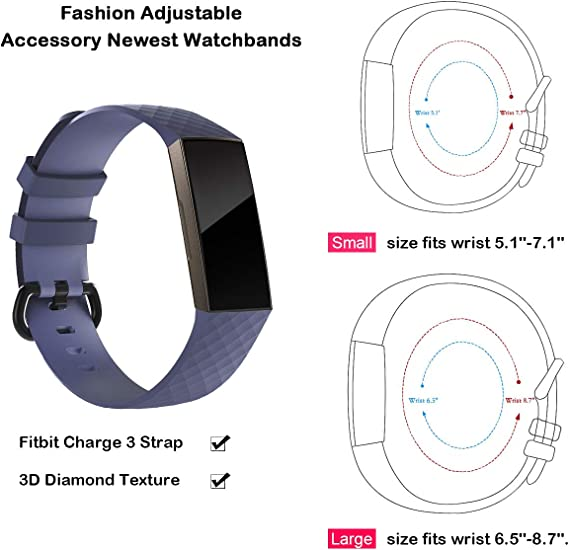 Classic Stainless Steel Metal Wrist Band Strap For Fitbit Charge 2 Bracelet RSG